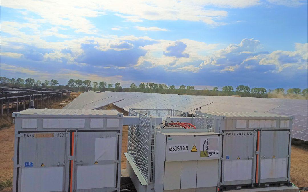 21 Centros de transformación CPS 7200 – Alemania