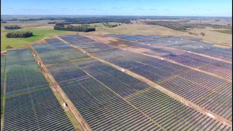 Comisionado Planta Solar EL NARANJAL, URUGUAY
