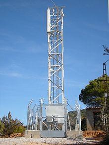 Estaciones base de telefonía Telefonica