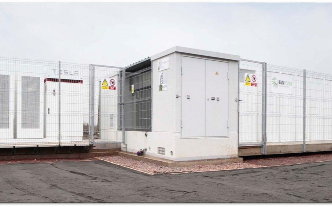 Planta de acumulación en baterías Cenin Renewables