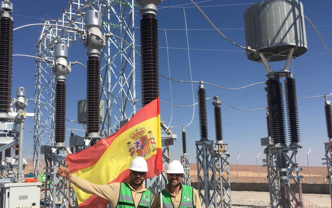 Puesta en marcha Subestación Planta Solar INTIPAMPA, PERÚ