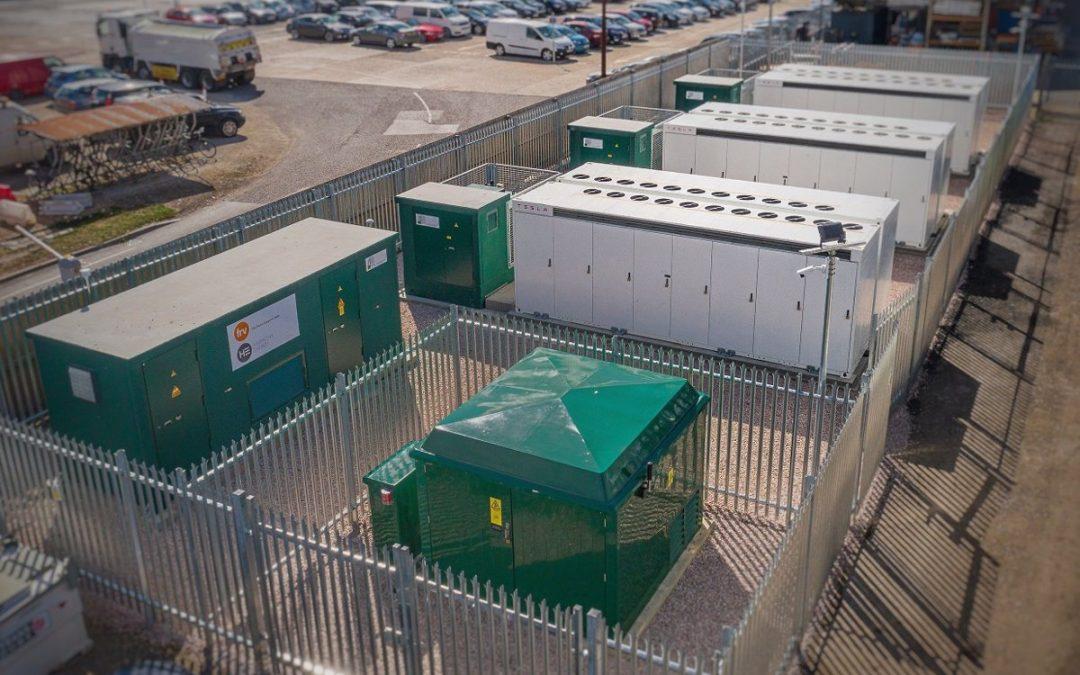 Sistema de acumulación con baterías ( BESS ) 15MWh – Reino Unido