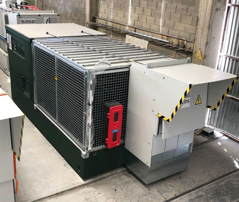Power stations with SF6 free switchgear